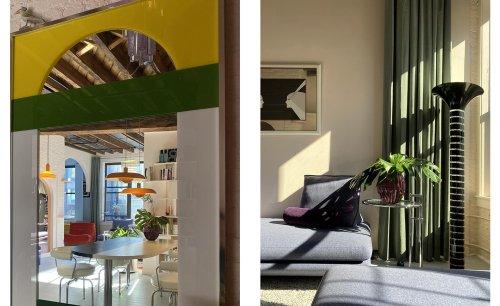 Industrial Brooklyn bakery building transformed into loft by Antonio Monserrat
