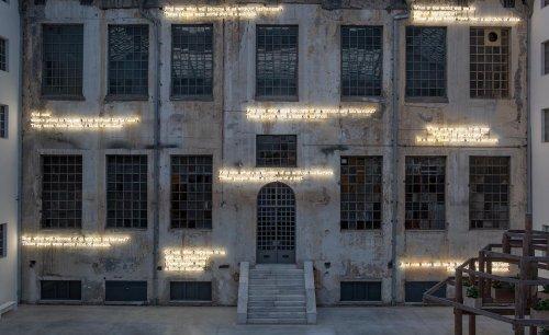 Former tobacco factory sets Athens' radical art scene alight