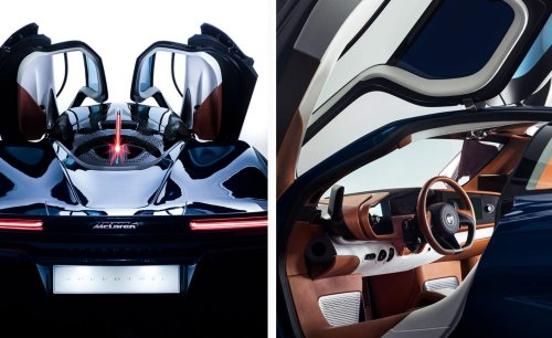 Hermès hits hyperdrive with a one-off car design for McLaren