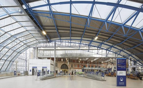 Waterloo Station terminal has got a new look
