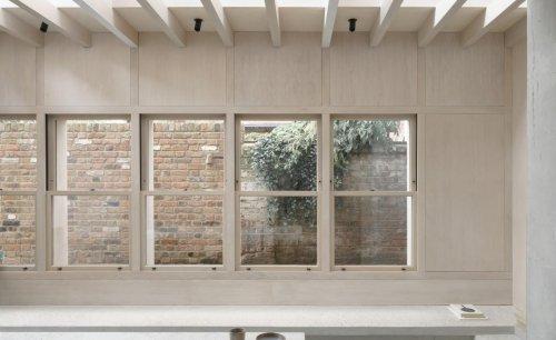 Brutalist concrete defines this tactile South London home