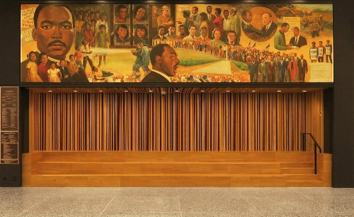 New photographs of Mies van der Rohe's Martin Luther King Jr Memorial Library