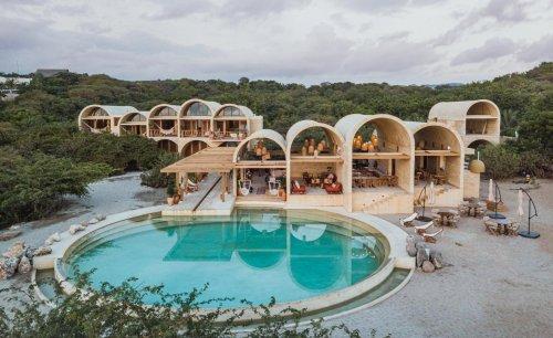 Alberto Kalach's sustainability-minded hotel in Puerto Escondido