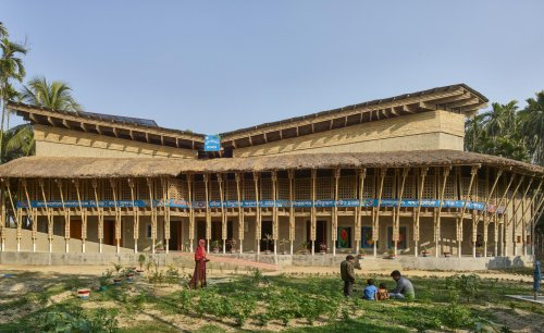 A Bangladeshi community building by Anna Heringer wins Obel Award 2020