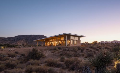 Jeremy Levine's 'Cowboy Modern' home in the California desert
