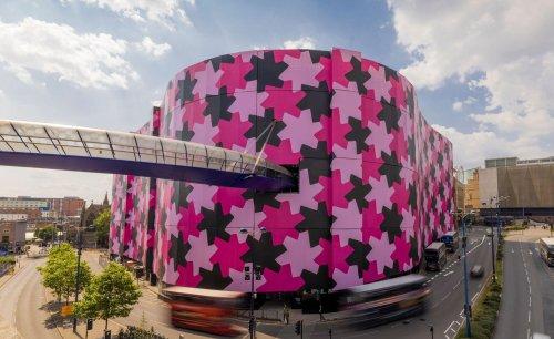 Osman Yousefzada wraps Selfridges in world's largest canvas