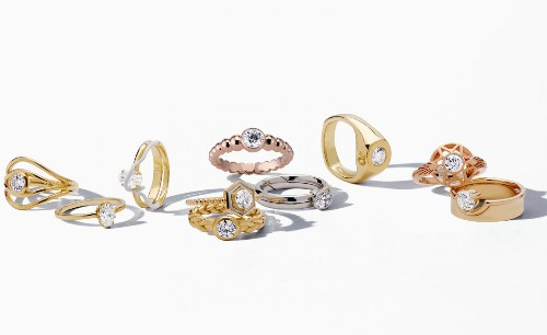10 jewellery designers rethink the classic engagement ring for De Beers