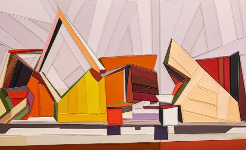 Painting architecture: Tommy Fitzpatrick's fractured modernist visions