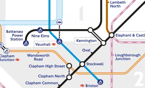 London's iconic Tube map design grows two new stations