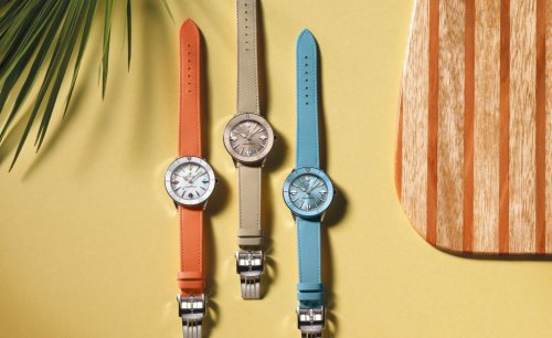 Breitling's pastel-coloured watches bring zing to summer time