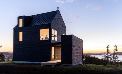 Contemporary Newfoundland cabin offers spectacular views