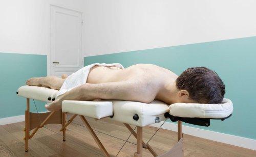 Laid bare: Elmgreen Dragset create subversive massage parlour in Paris