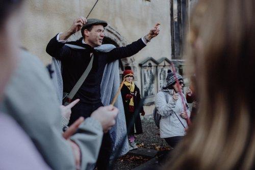 Auf den Spuren von Harry Potter durch Edinburgh