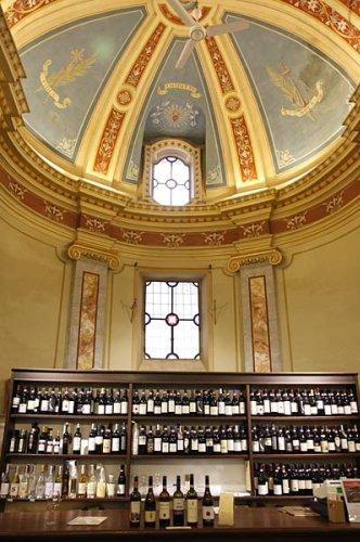 Wine Tasting in a Church: Barbaresco