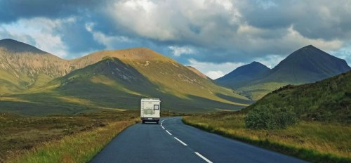 Where to campervan in the UK in winter