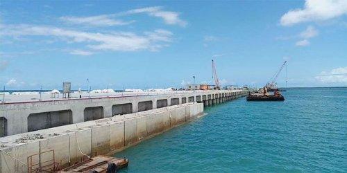 First ships arrive at Kenya's new Lamu deepwater port