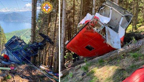 Italy cable car crash kills at least 13