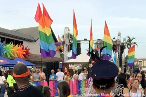 One person dead after pickup truck hits Wilton Manors Pride parade participants