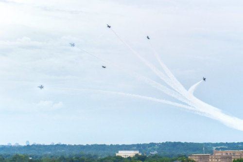 Here's Why You Might've Heard Extremely Loud Fighter Jets Over DC Friday Morning
