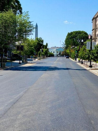 Black Lives Matter Plaza Has Been Paved Over