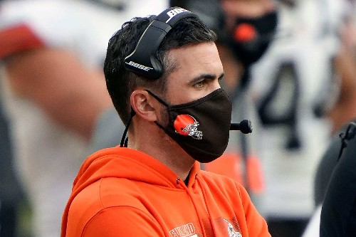 The Browns believe in Coach Kevin Stefanski, whether he's on the sideline or in his basement
