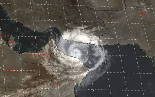 Oman braces for historic landfall from Tropical Cyclone Shaheen