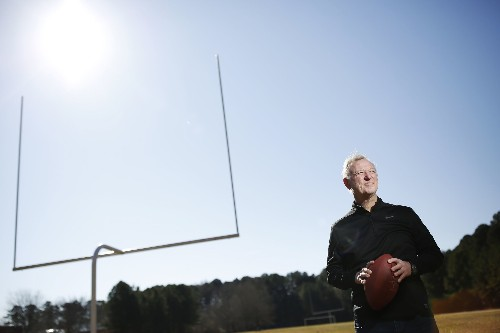 A college football coach's season at war with the coronavirus — and his own school