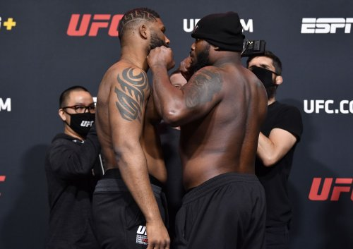 UFC fighter who missed weight by nearly 12 pounds blames bad salmon for record-setting imbalance