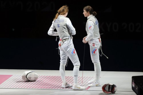 Russia is banned at the Tokyo Olympics, but Russians are everywhere