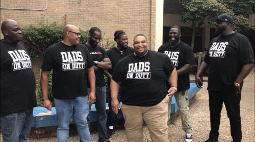 Kids were fighting in school. Dads began patrolling campus, and the violence stopped.