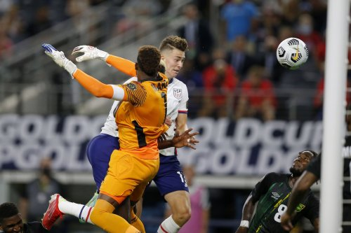 Matthew Hoppe's first international goal sends the USMNT to the Gold Cup semifinals