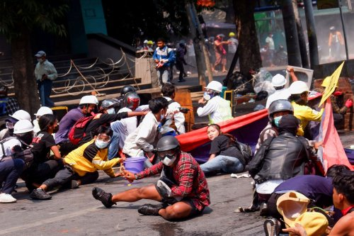 U.N. says at least 38 dead in Myanmar anti-coup protests as security forces shoot to kill