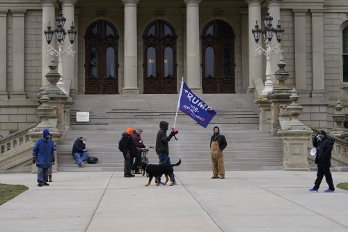 A Michigan Republican refused to rule out violence in electoral college protests. Now he's lost his committee seats.