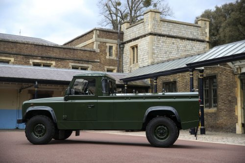 Prince Philip's coffin will be carried in a Land Rover he designed