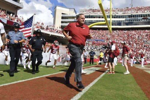 'Yessirrr!' Sam Pittman has Arkansas football back in the mix in the SEC.