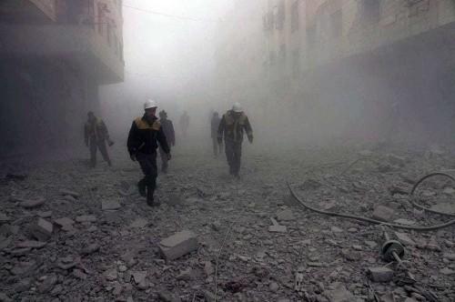 As violence escalates in Syria, video footage shows civilian devastation