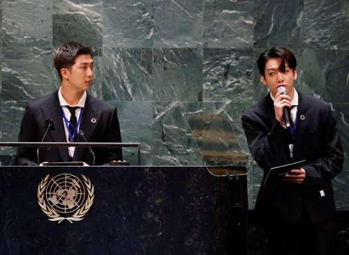 More than 1 million people watched the U.N. General Assembly online — when K-pop band BTS took to the podium