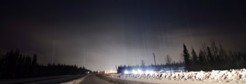 Dazzling double feature: How aurora and light pillars formed over Fairbanks, Alaska, on Friday