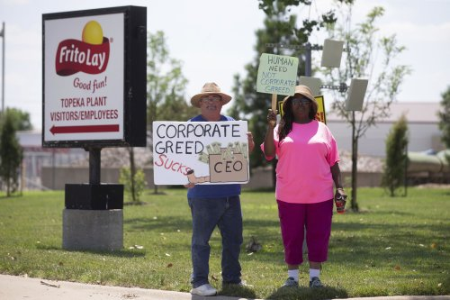 Frito-Lay workers end 20-day strike in Kansas with contract that guarantees one day off per week