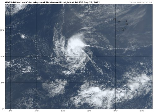 Forecasters eyeing new Atlantic tropical system set to be named 'Sam'