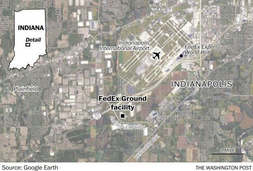 Gunman at Indianapolis FedEx facility was former employee, police say; victims identified