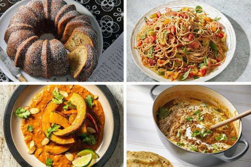 Our favorite recipes for late summer and early fall