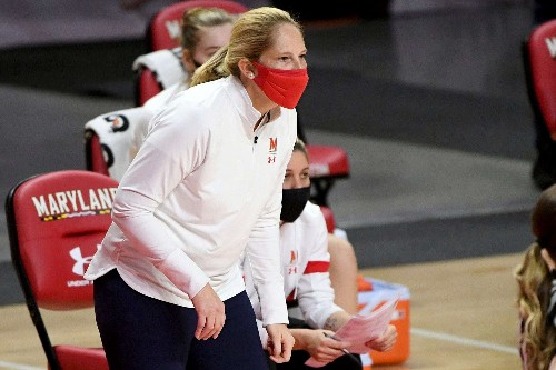Maryland leaves Brenda Frese frustrated with its effort, but it also leaves Wisconsin with a win