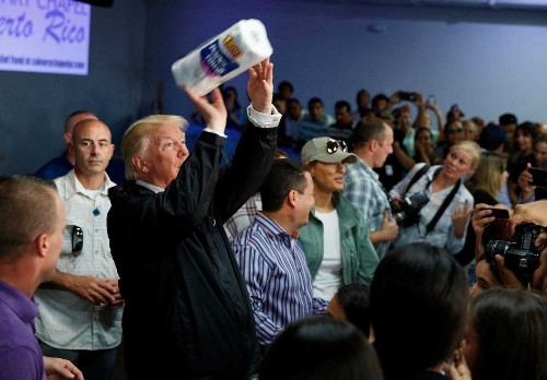 Trump rebuked after questioning number of deaths attributed to Hurricane Maria