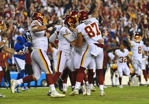 Four takeaways from Washington's 30-29 win over the Giants on 'Thursday Night Football'