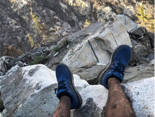 A hiker was lost and desperate. A stranger with an unusual hobby saved him.