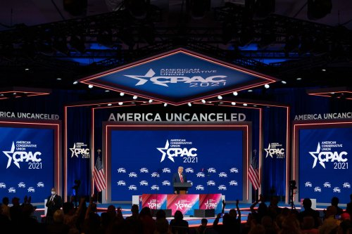 Fox News once banned its hosts from speaking at partisan events. Then it went all in on CPAC.