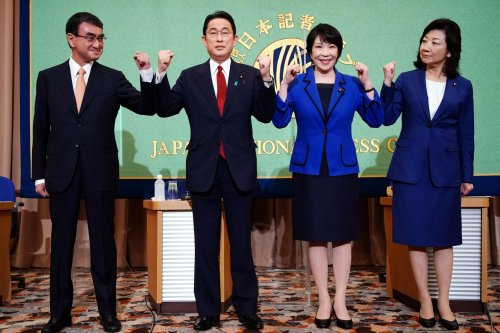 Japan's ruling party is picking a new leader and likely next prime minister. Here are the candidates.