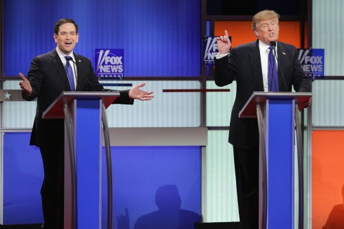 The asterisk on Trump's endorsement of Marco Rubio