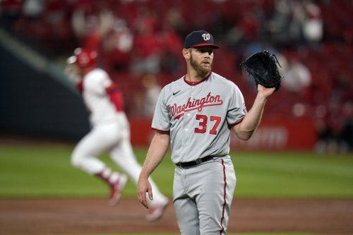With his velocity down and his command AWOL, Stephen Strasburg is hammered in St. Louis